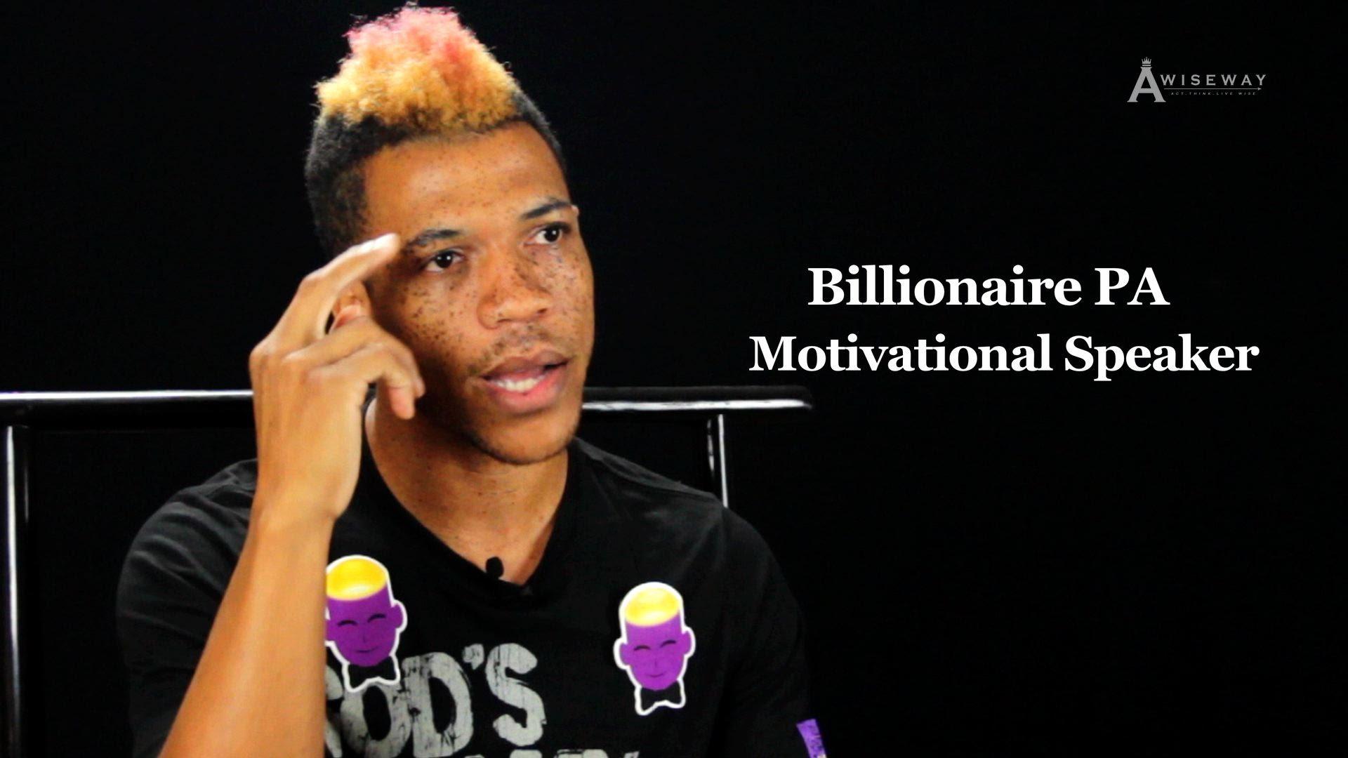 Motivational Speaker Shares The Reason He Regrets Selling Drugs