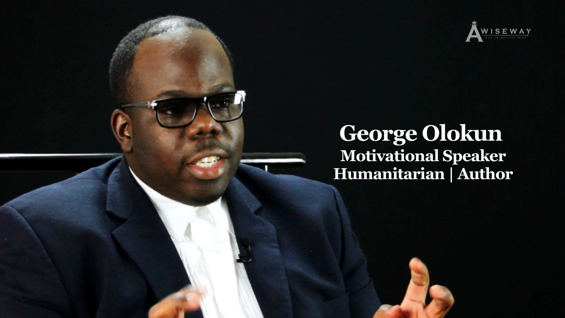 Motivational Speaker Discusses His Platform to Bring Global Change