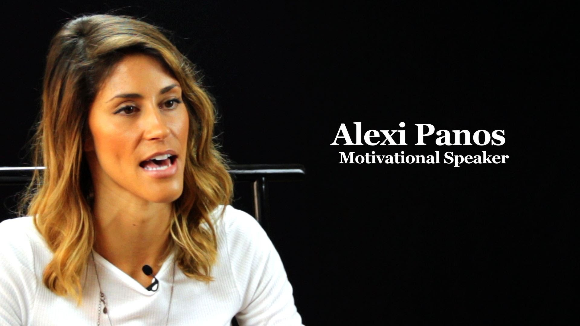 Alexi Panos Shares The Experience that Influenced Her to Change Lifestyles