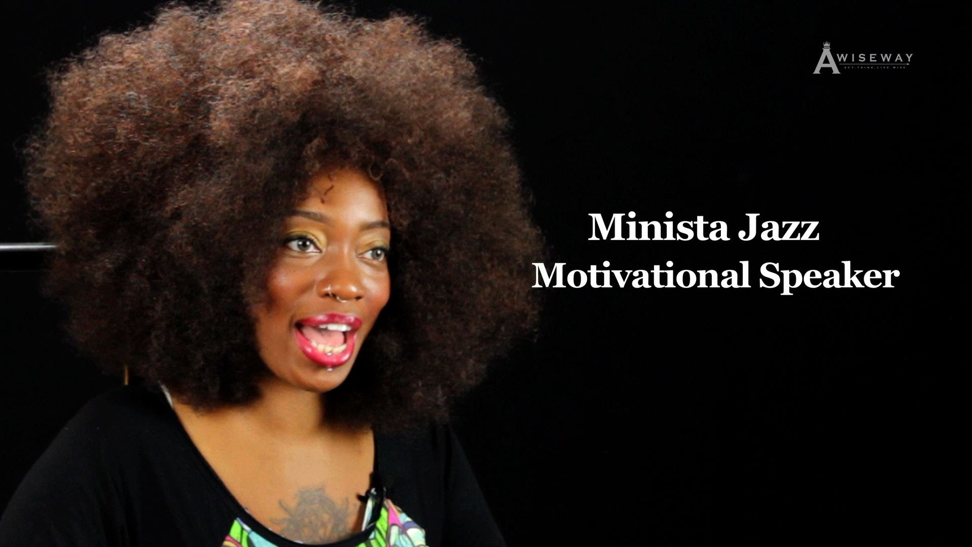 Motivational Speaker Says She Uses Music as Another Platform to Help People