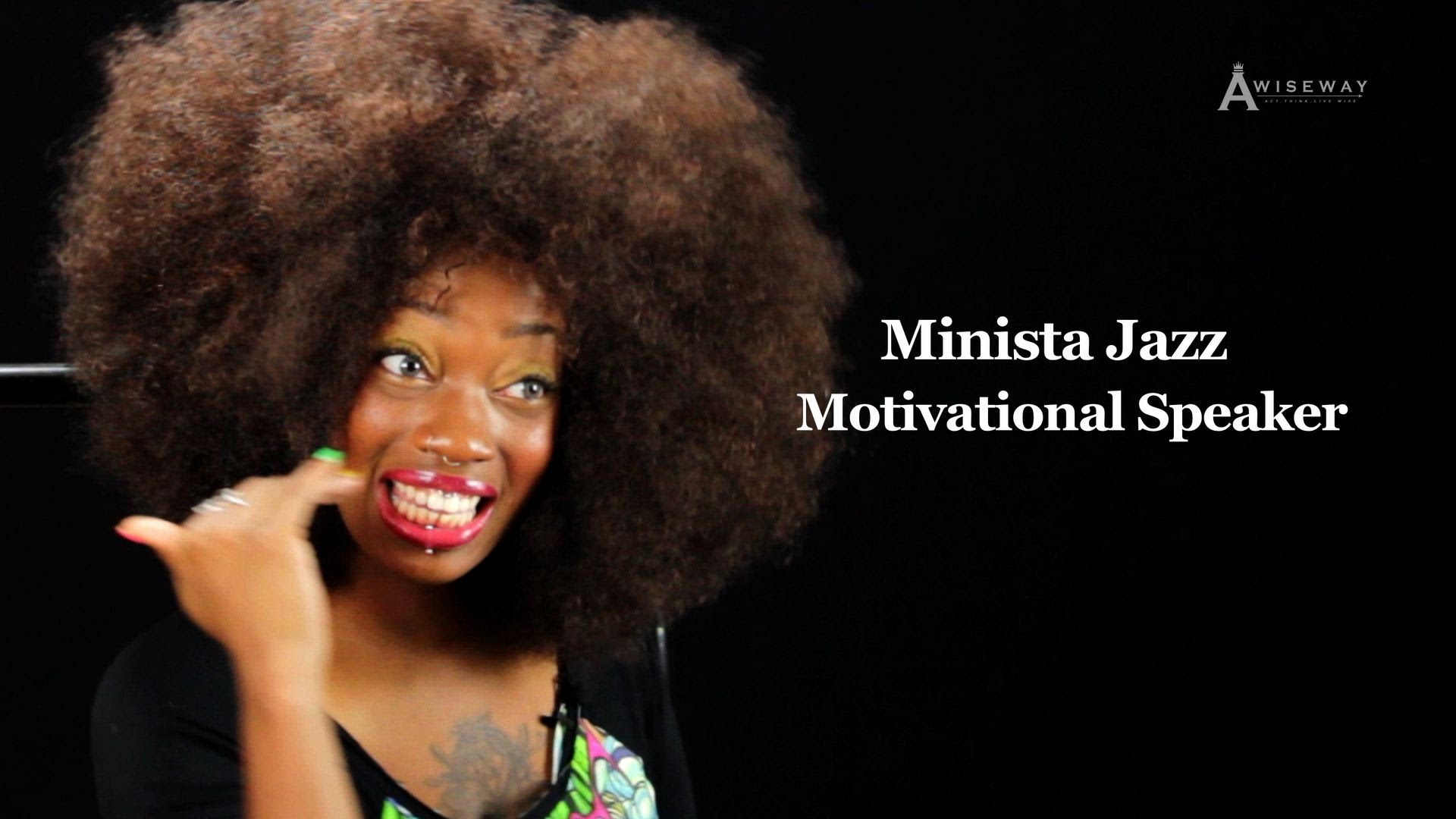 Motivational Speaker Gives Inspiration Because She Loves the Feeling of Being Inspired