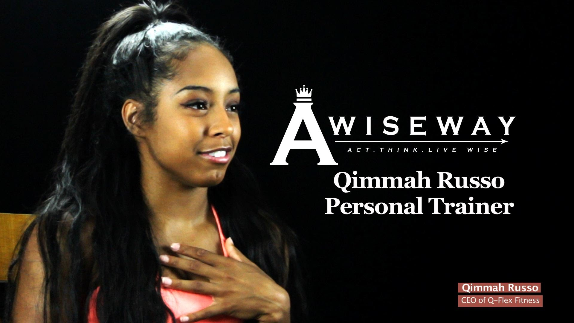 Qimmah Russo Gives Advice on Nutrition, Healthy Lifestyle, and Staying Motivated