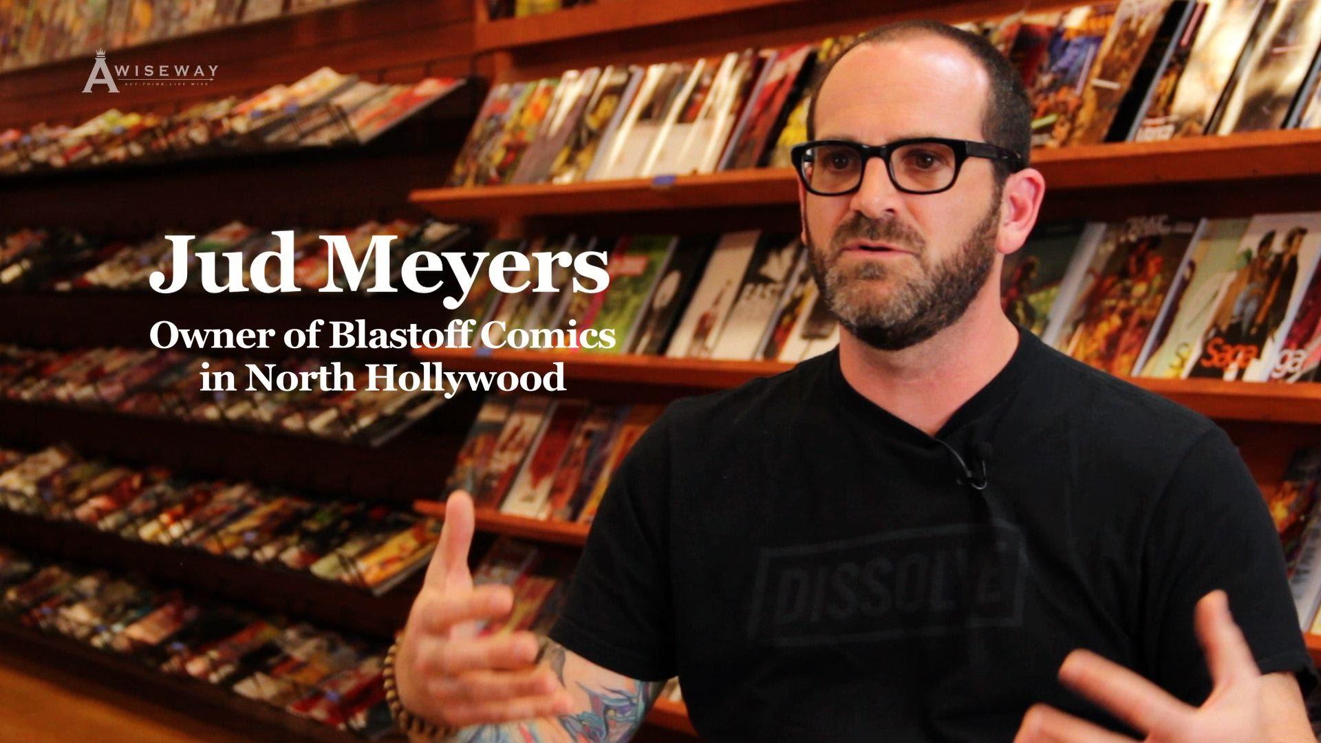 Blastoff Comics Owner, Jud Meyers Explains Choice on Superman vs Batman