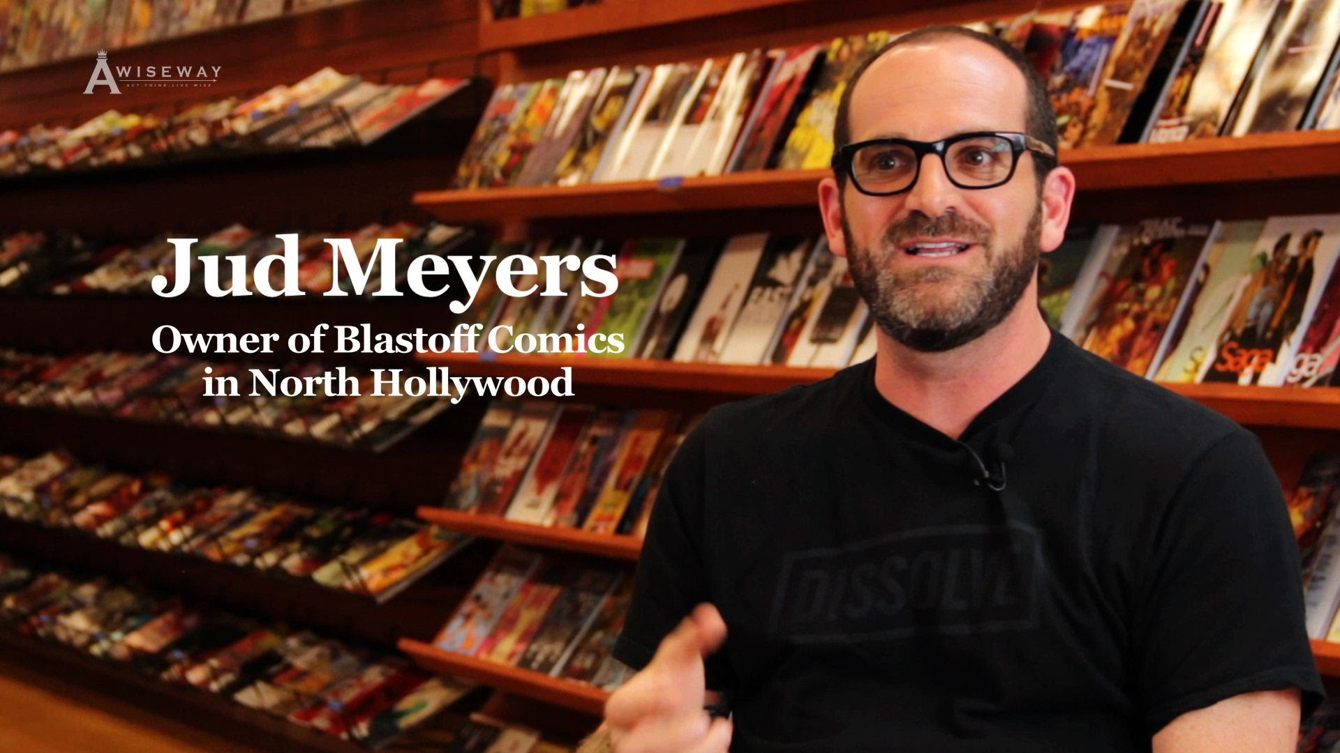 Blastoff Comics Owner, Jud Meyers Shares Never Using Time Travel If Possible