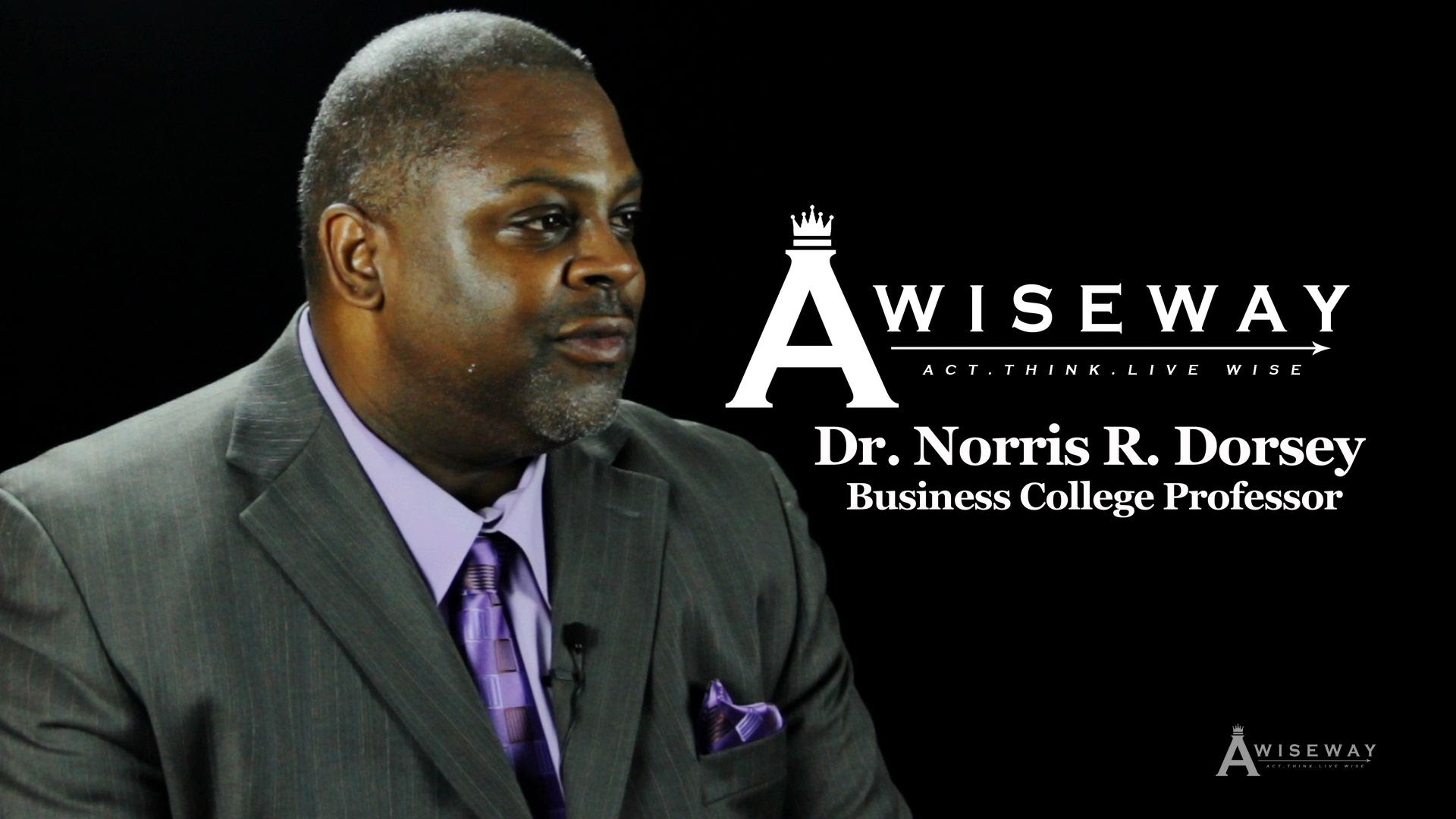 "Dr. Norris Dorsey Explains Why ""C's"" Get Degrees"