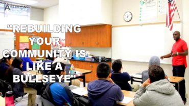 "Cyrus the Solution: ""Rebuilding Your Community is Like a Bullseye"""