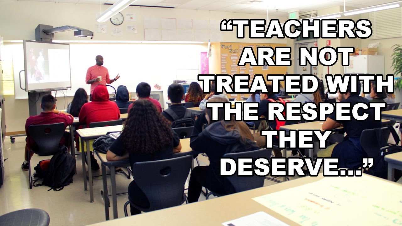 "Cyrus the Solution: ""Teachers are not Treated Correctly…"""